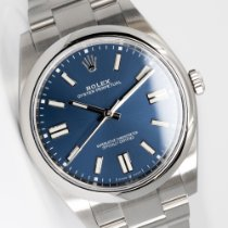 Rolex Oyster Perpetual Acero 41mm Azul