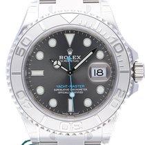Rolex Yacht-Master Stahl 40mm Blau