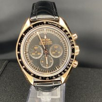 Omega Speedmaster Professional Moonwatch Pозовое золото Черный