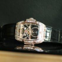 Hublot Spirit of Big Bang Spirit Big Bang  custom 18K Rose gold Tourbillon full Baguette diamond 45MM Неношеные Pозовое золото 45mm Механические