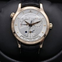 Jaeger-LeCoultre Master Geographic Rose gold 38mm Silver United States of America, California, Huntington Beach