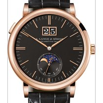 A. Lange & Söhne Saxonia Rose gold 40mm Black No numerals