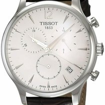 Tissot Tradition Steel 42mm White Arabic numerals United States of America, New Jersey, Somerset