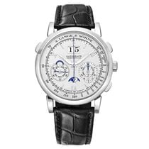 A. Lange & Söhne Datograph Platinum 41mm Silver United States of America, Connecticut, Greenwich