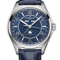 Vacheron Constantin Fiftysix Steel 40mm Blue Arabic numerals