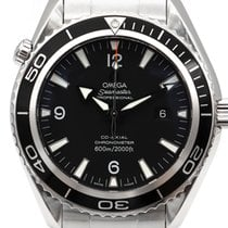 Omega Seamaster Planet Ocean Acier 45.5mm Noir Arabes France, Toulouse