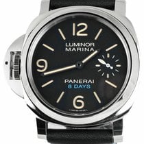 Panerai Luminor Marina 8 Days Steel 44mm Black United States of America, New York, Smithtown