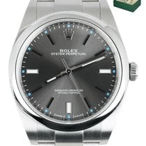 Rolex Oyster Perpetual 39 Steel 39mm Grey United States of America, New York, Smithtown