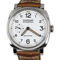 Panerai Steel Automatic White Arabic numerals 42mm pre-owned Radiomir 1940 3 Days Automatic