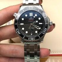 Omega Seamaster Diver 300 M nuevo 2021 Automático Reloj con estuche y documentos originales 210.30.42.20.01.001