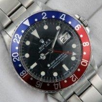 Rolex GMT-Master Ocel 40mm Černá Bez čísel