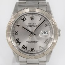 Rolex Datejust Turn-O-Graph Aço 36mm Prata