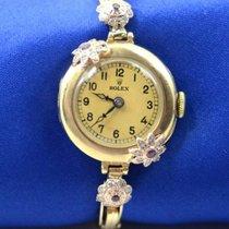Rolex 100 Хорошее Желтое золото 24mm Механические