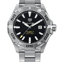 TAG Heuer Aquaracer 300M Steel 43mm Black No numerals United States of America, New York, New York
