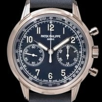 Patek Philippe Chronograph White gold 41mm Blue Arabic numerals United States of America, New York, New York