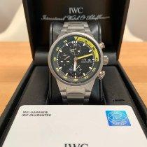 IWC Aquatimer Chronograph Titan 42mm Schwarz Keine Ziffern Deutschland, Rellingen
