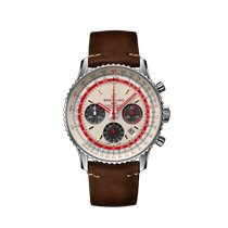 Breitling AB01219A1G1X2 Staal Navitimer 1 B01 Chronograph 43 43mm nieuw