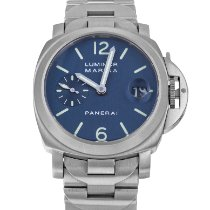 Panerai Luminor Marina Automatic Steel 40mm Blue United States of America, Maryland, Baltimore, MD