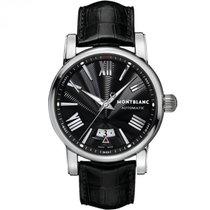 Montblanc Star 4810 Steel 41,5mm Black Roman numerals