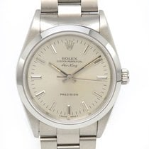 Rolex Air King Precision Steel 34mm Silver