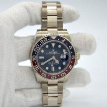 Rolex Weißgold Automatik Blau Keine Ziffern 40mm neu GMT-Master II