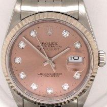 Rolex Datejust Steel 36mm Pink No numerals United States of America, New York, New York