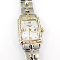 Raymond Weil Parsifal Gold/Steel 21mm Mother of pearl Roman numerals United Kingdom, Plymouth