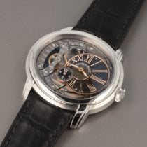 Audemars Piguet Steel Automatic Black Roman numerals 47mm pre-owned Millenary 4101