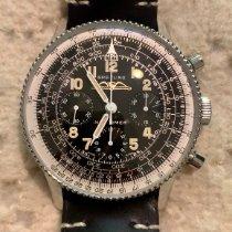 Breitling Navitimer Stahl 41mm Schwarz Arabisch