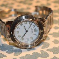 Hermès Clipper Steel 37mm White Arabic numerals United States of America, Kentucky, lexington