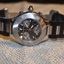 Cartier 21 Chronoscaph Steel 38mm Black No numerals United States of America, Kentucky, lexington