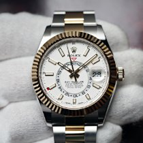 Rolex Sky-Dweller Gold/Steel 42mm White No numerals United States of America, Florida, Orlando