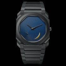 Bulgari new Automatic Small seconds Limited Edition 40mm Ceramic Sapphire crystal