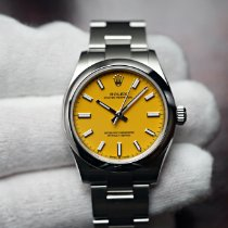 Rolex Oyster Perpetual 31 Steel 31mm Yellow No numerals
