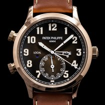 Patek Philippe Travel Time Rose gold 42mm Arabic numerals United States of America, Massachusetts, Boston