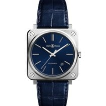 Bell & Ross BR S Steel 39mm Blue United States of America, California, Newport Beach