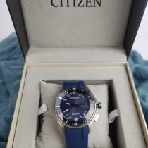 Citizen Titanium 40.5mmmm Blue No numerals