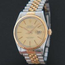 Rolex 16013 Золото/Cталь 1984 Datejust 36mm подержанные