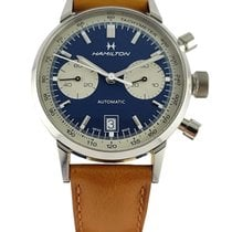 Hamilton H38416541 Steel 2020 Intra-Matic 40mm pre-owned