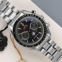 Omega Speedmaster Professional Moonwatch Moonphase occasion 44mm Noir Acier