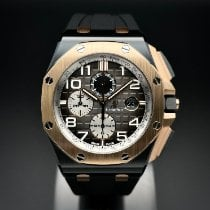 Audemars Piguet Royal Oak Offshore Chronograph Pозовое золото 44mm Черный Aрабские