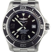 Breitling Superocean 44 Steel 44mm Black United States of America, Illinois, BUFFALO GROVE