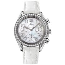 Omega Speedmaster Ladies Chronograph Steel 35mm Arabic numerals United States of America, New York, New York