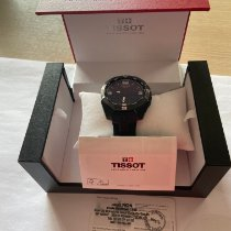 Tissot T-Touch Expert Solar pre-owned 45mm Black Chronograph Date Alarm Rubber
