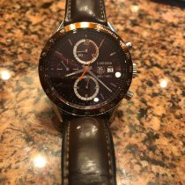 TAG Heuer Carrera Calibre 16 Steel 41mm Brown No numerals United States of America, Pennsylvania, Stoystown