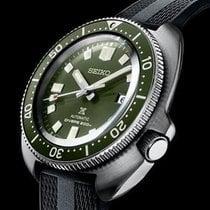 Seiko Prospex Сталь 42.7mm Зеленый Без цифр