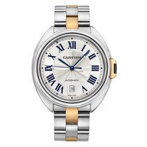 Cartier W2CL0002 Gold/Steel 2018 Clé de Cartier 40mm pre-owned United States of America, Connecticut, Greenwich