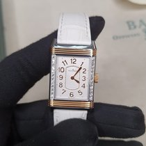 Jaeger-LeCoultre Grande Reverso Lady Ultra Thin Gold/Steel 40mm Silver