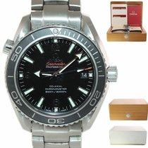 Omega Seamaster Planet Ocean Steel 42mm Black Arabic numerals United States of America, New York, Huntington