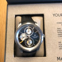 Maurice Lacroix Pontos Chronographe pre-owned Black Chronograph Date Rubber